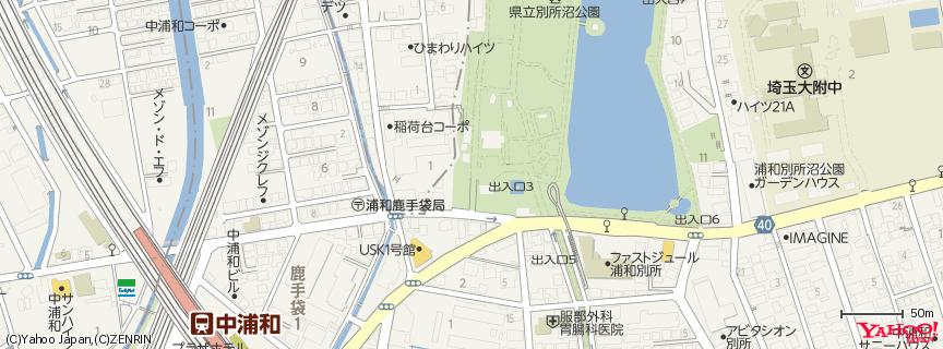 別所沼公園 地図