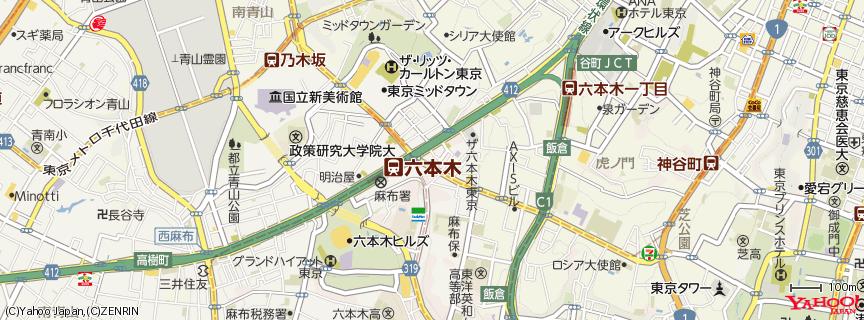 六本木 地図