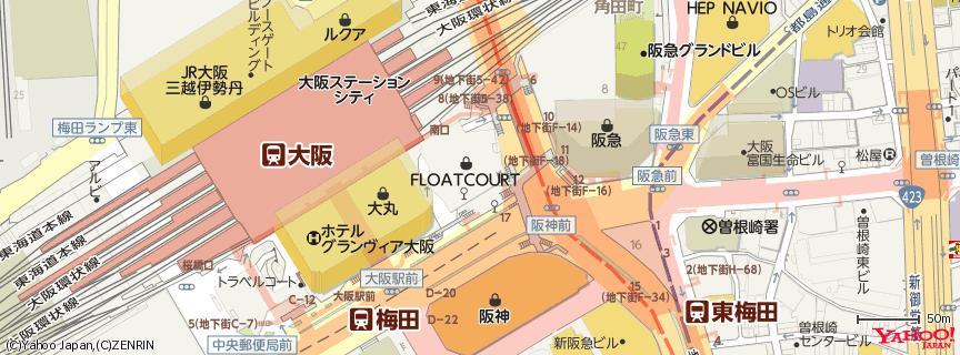 梅田 地図