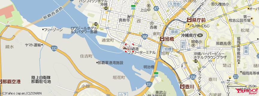 那覇港 地図