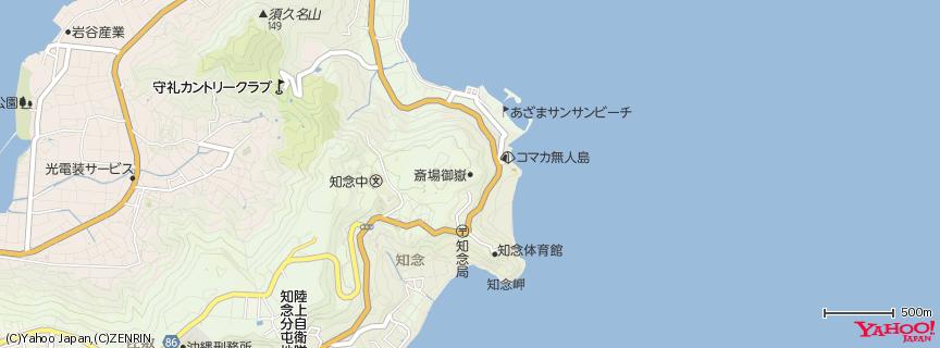 Seifa-utaki 地図