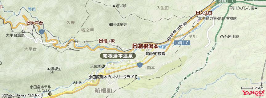 箱根 地図