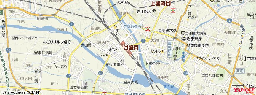 盛岡駅 地図