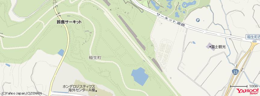 鈴鹿サーキット 本コース 地図