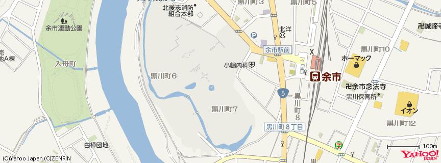 ニッカウヰスキー 余市蒸留所 地図