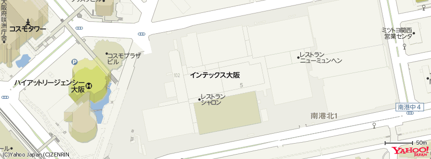インテックス大阪 地図