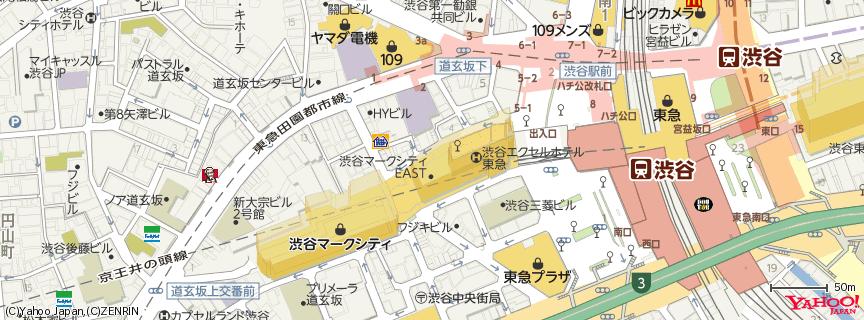 渋谷マークシティ 地図