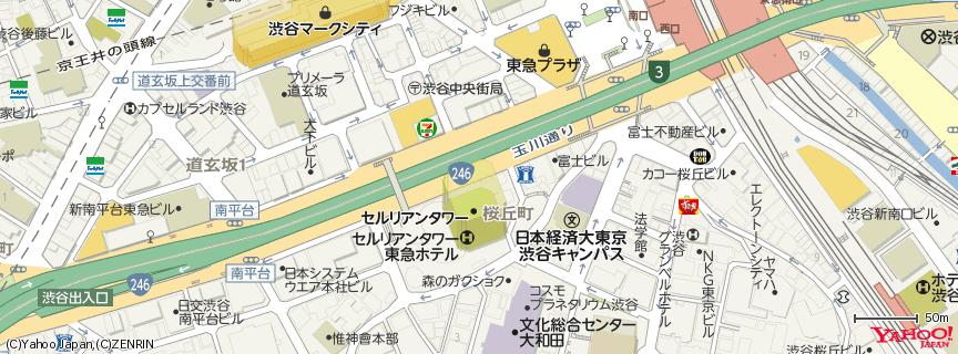 セルリアンタワー 地図