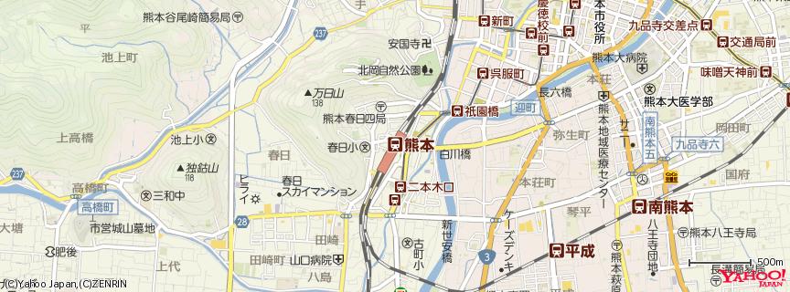 熊本駅 地図