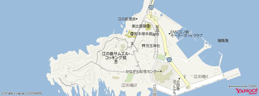 江島神社 地図
