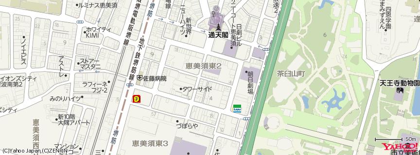 串かつだるま 総本店 地図