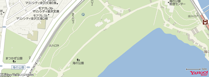 海の公園 地図