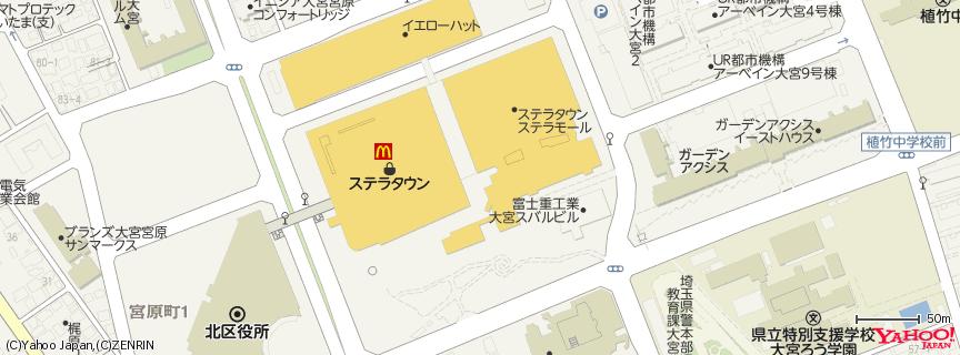 ステラタウン 地図