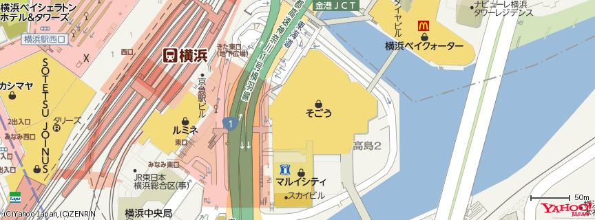 そごう 横浜店 地図