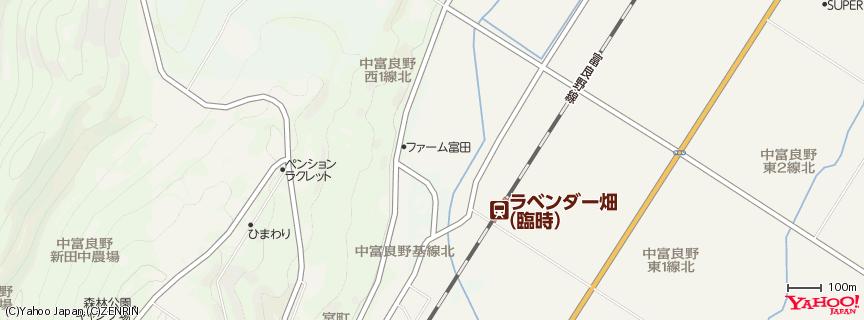 ファーム富田 Farm Tomita 地図