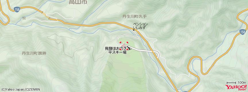 ほおのき平スキー場 地図