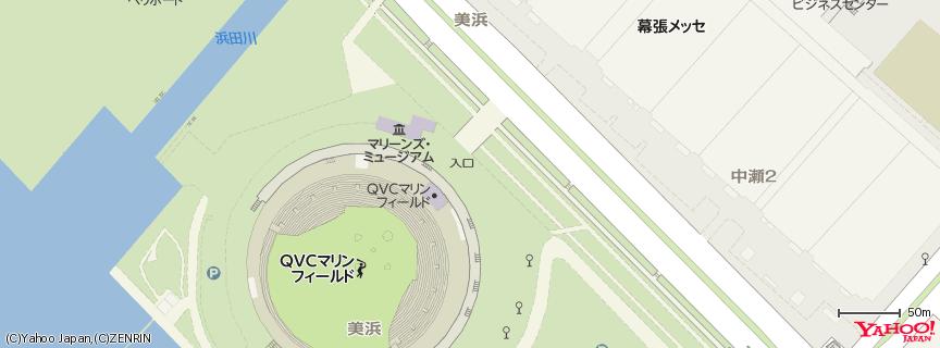 千葉マリンスタジアム 地図