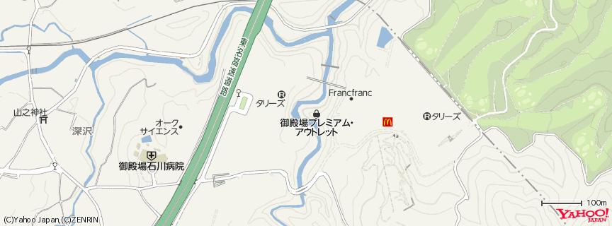 御殿場プレミアム・アウトレット 地図