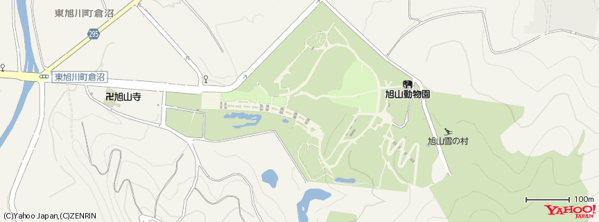 旭川市旭山動物園(Asahikawa Asahiyama zoological park) 地図