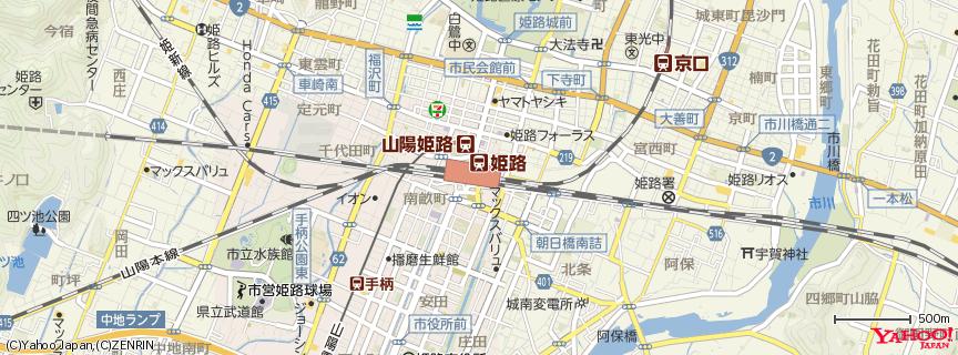 姫路駅 地図