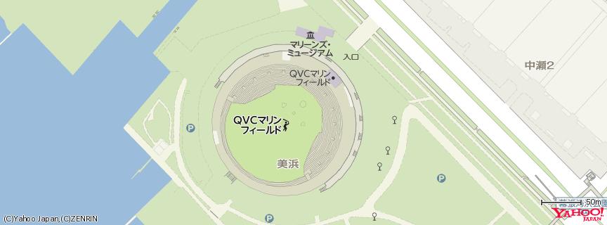 QVC Marine Field 地図