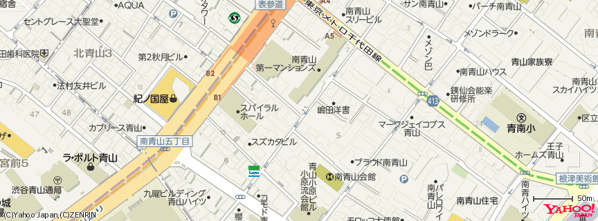 PURE CAFE 地図