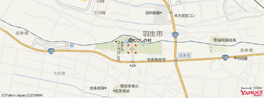 むさしの村 地図