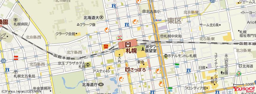 札幌駅 地図