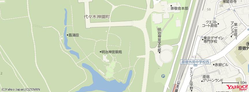 明治神宮 地図