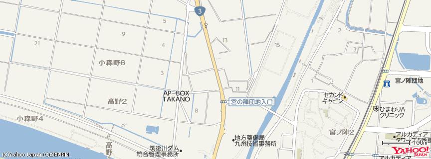 丸星ラーメン 地図