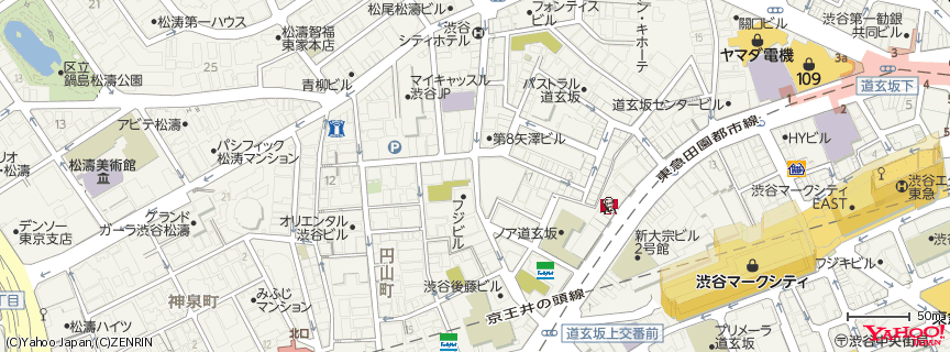 O−EAST 地図