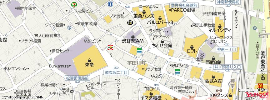渋谷 Club Quattro 地図