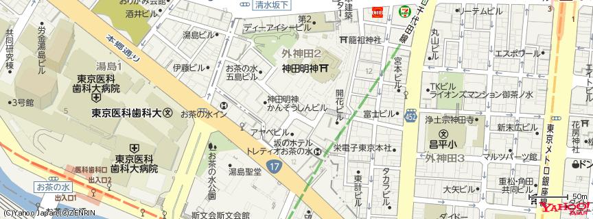 神田明神 地図