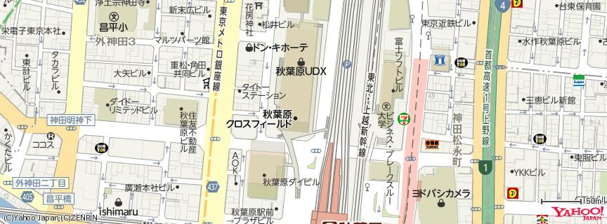 秋葉原UDX 地図