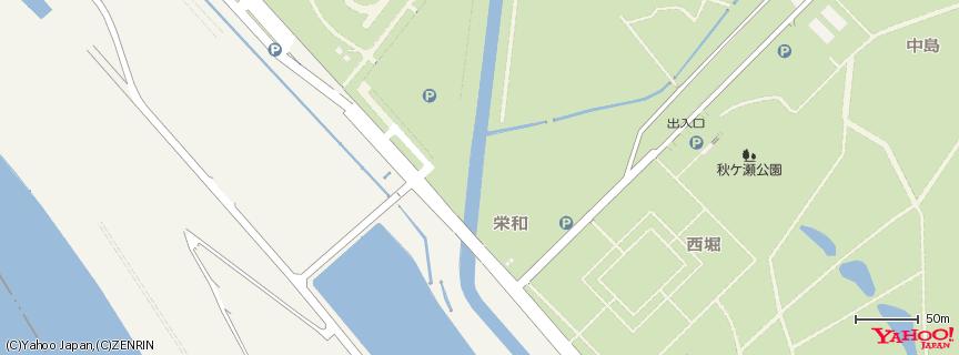 秋ヶ瀬公園 地図