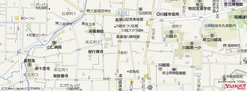 時の鐘 地図