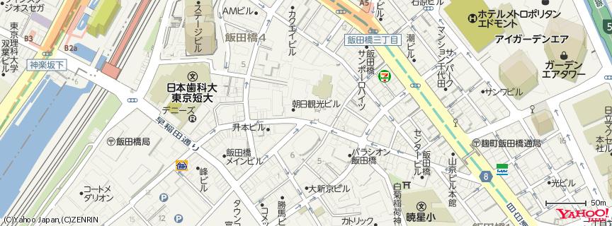 東京大神宮 地図