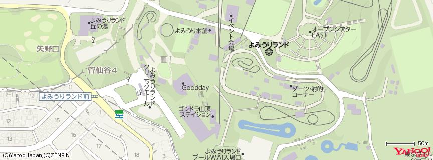 よみうりランド 地図