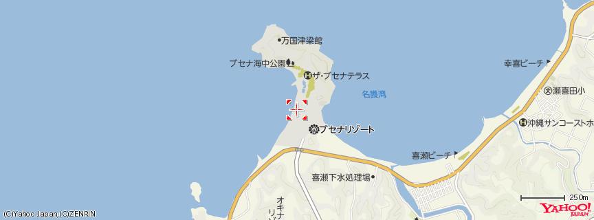 海中展望塔 地図