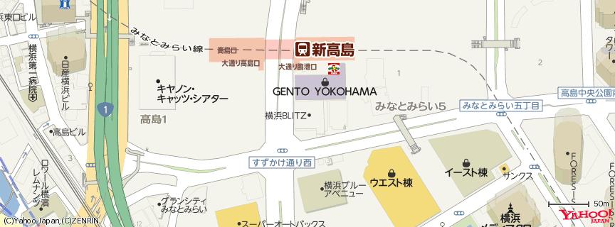 横浜BLITZ 地図