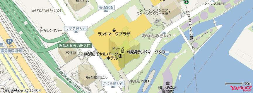 横浜ランドマークタワー (Yokohama Landmark Tower) 地図