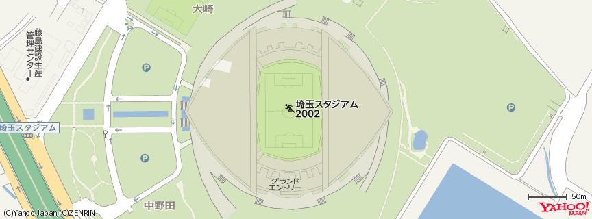 埼玉スタジアム2002 地図