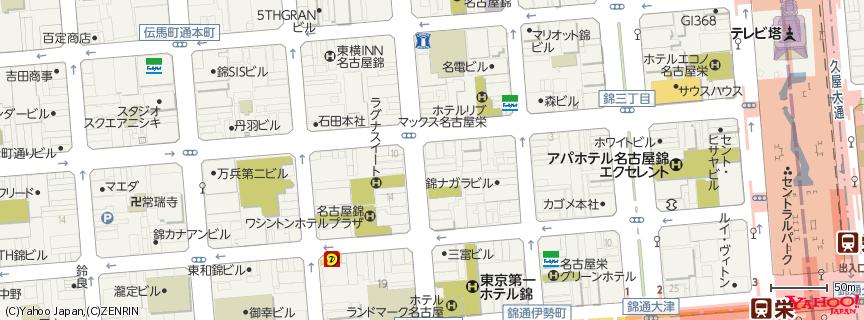 錦三丁目 地図