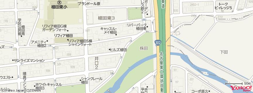 名古屋市瑞穂公園陸上競技場 地図