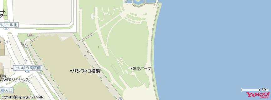 臨港パーク 地図