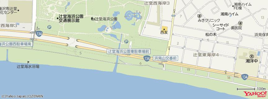 辻堂海岸 地図