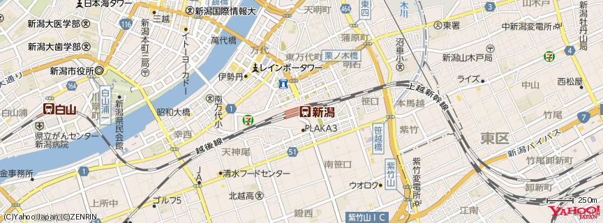 新潟駅 地図