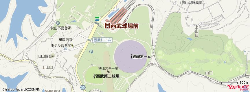 西武ドーム 地図
