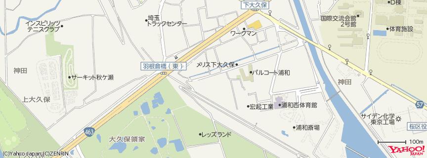 レッズランド 地図