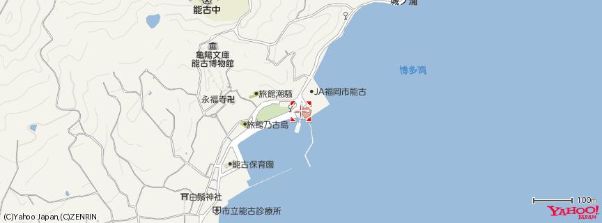 能古島 地図